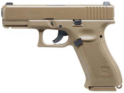 Pistole vzduchová GLOCK 19X COYOTE