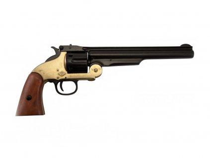 Revolver Smith & Wesson 1869 (mosaz)  + Voucher na další nákup