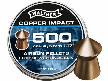 Diabolo Walther Copper Impact 500ks cal. 4,5mm