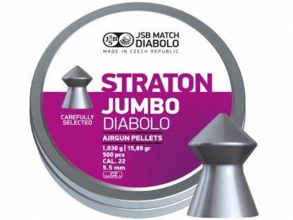 Diabolo JSB Straton Jumbo 5,5mm 250ks
