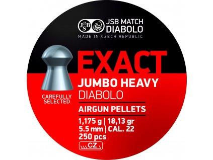 Diabolo JSB Exact Jumbo Heavy 5,52mm 250ks
