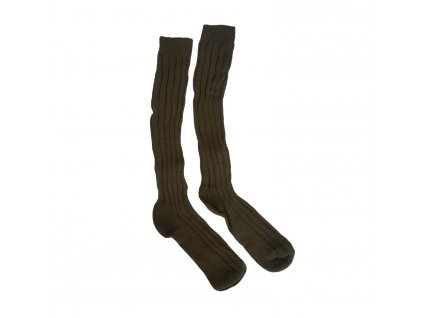 Ponožky zimní podkolenky AČR ZELENÉ