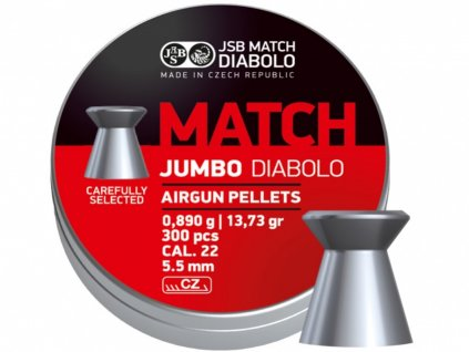 Diabolo JSB Jumbo Match 5,50mm 300ks