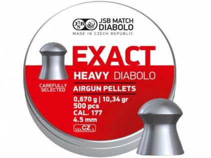 Diabolo JSB Exact Heavy 4,52mm 500ks
