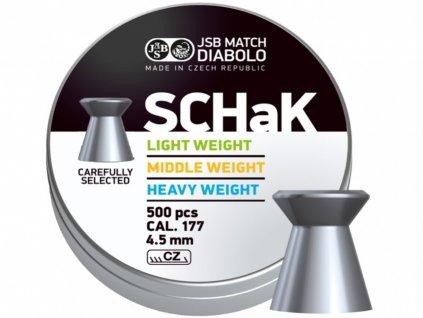 Diabolo JSB SCHaK 500ks cal.4,5mm