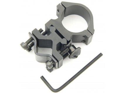 Montáž pro uchycení svítilny na hlaveň MK185