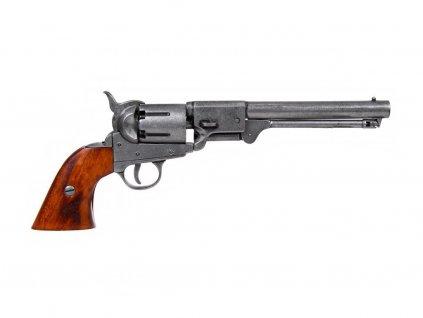 Revolver konfederace - USA 1860 (šedý)