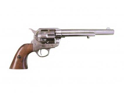 Revolver ráže 45 - USA 1873, 7 1/2' (nikl)