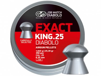 Diabolo JSB Exact King 6,35mm 150ks