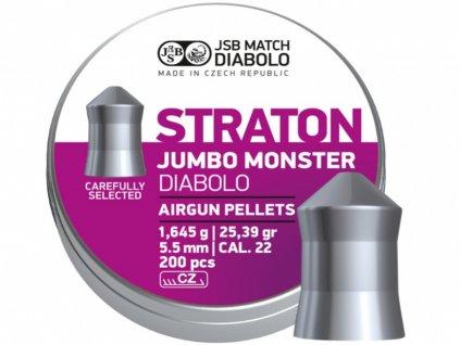 Diabolo JSB Straton Jumbo Monster 5,51mm 200ks