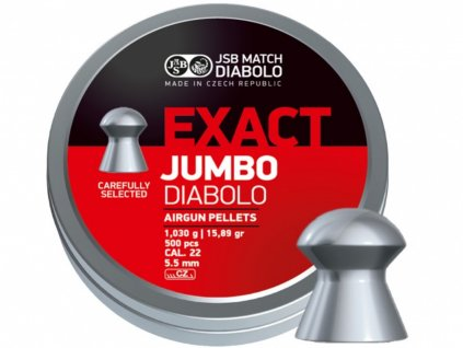 Diabolo JSB Exact Jumbo 5,51mm 250ks