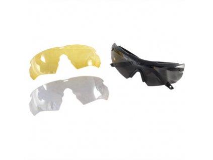Brýle CROSSBOW sada 3skla + Hardcase