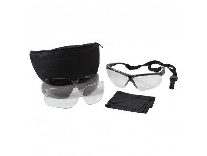 Brýle UVEX GENESIS MILITARY 3 skla