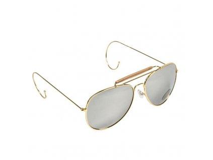 Brýle sluneční AF s pouzdrem ZRCADLOVÉ