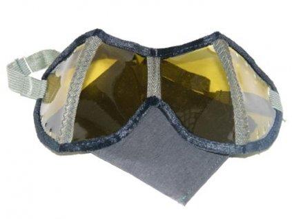 Brýle WH skládací v pouzdře ŽLUTÉ