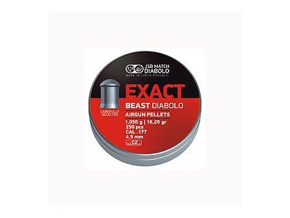 Diabolky JSB EXACT BEAST 4,5 mm 250 ks
