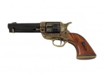 """Revolver cal.45 PEACEMAKER 4,75"""", USA 1873 (rytý)"""