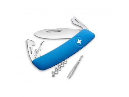 Nůž kapesní SWIZA D03 MODRÝ  + Voucher na další nákup