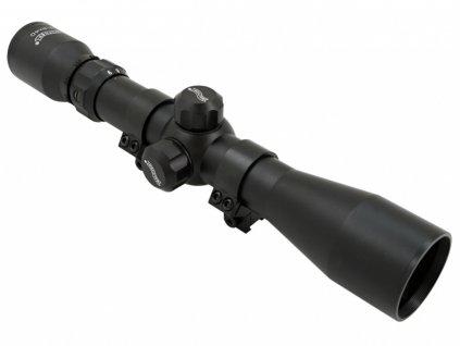 Puškohled Walther 3-9x40 + montáž 11mm