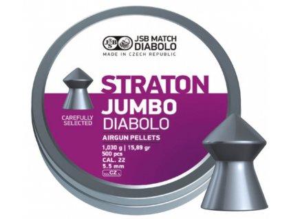 Diabolo JSB Straton Jumbo 5,5mm 500ks