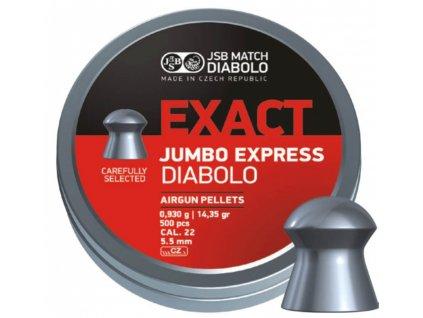 Diabolo JSB Exact Jumbo Express 5,52mm 500ks