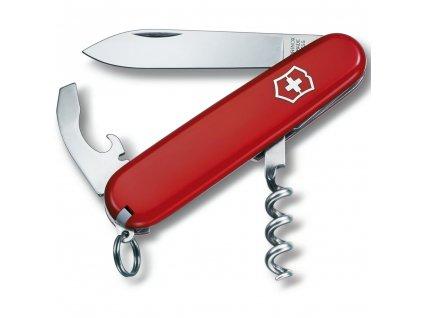 Nůž kapesní WAITER 84mm ČERVENÝ