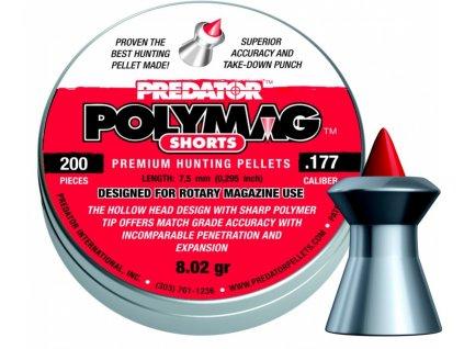 Diabolo JSB Predator PolyMag Shorts 4,5mm 200ks