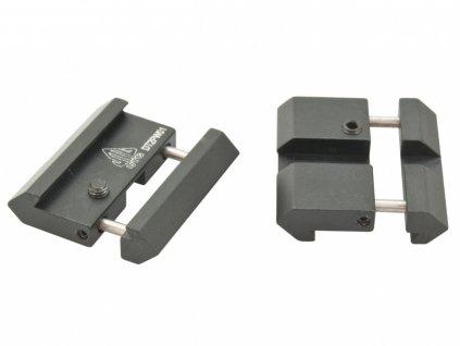 Adaptér montáže 22mm na 11mm Leapers