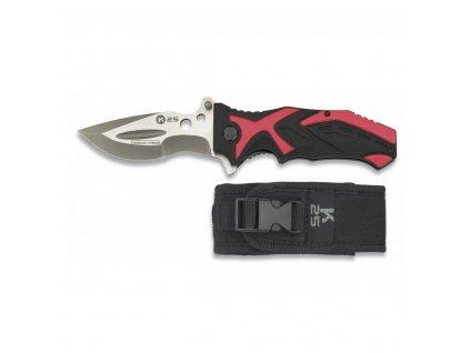 Nůž K25 ČERNO/ČERVENÝ