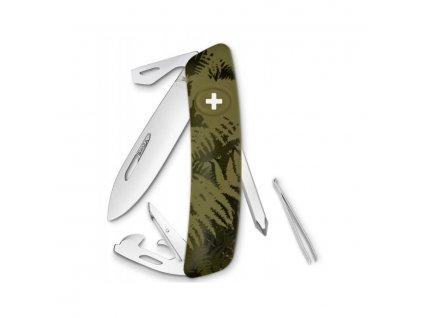 Nůž kapesní SWIZA C04 ZELENÝ LISTÍ  + Voucher na další nákup