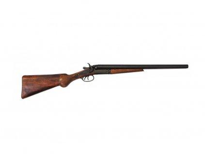Brokovnice dvouhlavňová používaná W. Earpem - USA 1881