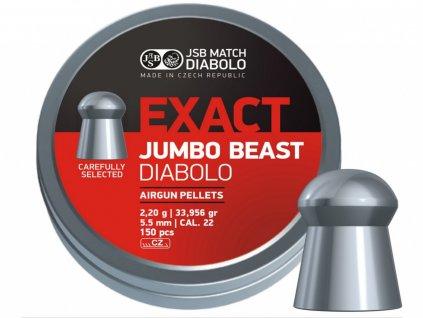 Diabolo JSB Exact Jumbo Beast 5,52mm 150ks
