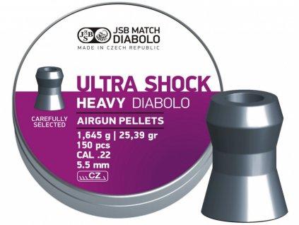 Diabolo JSB Ultra Shock Heavy 5,5mm 150ks