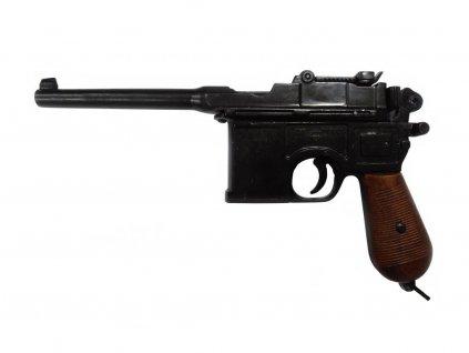 Automatická pistole C 96, 7.63 mm Německo 1896