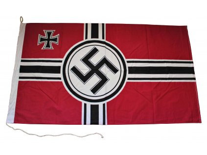 Vlajka Reichskriegsfahne - ruční výroba