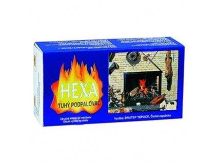 Tuhý líh / podpalovač HEXA 16tablet