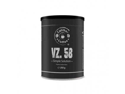 Káva CALIBER COFFEE vz.58 plechovka 250g