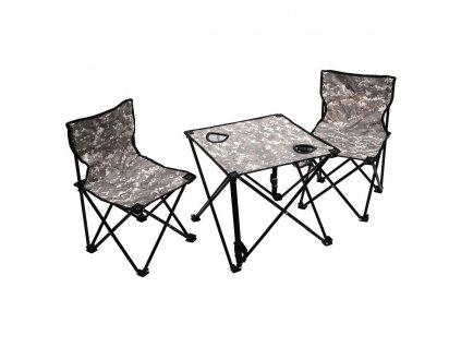 Kempingový set dětský /stůl + 2x židle/ AT-DIGITAL