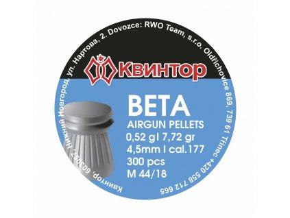Diabolo Kvintor Beta cal.4,5mm 300ks