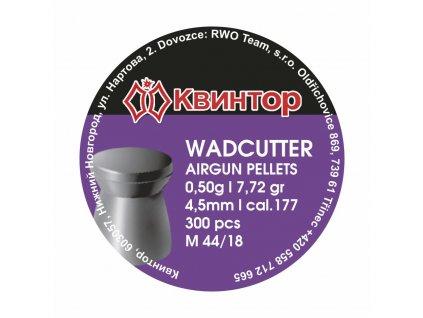 Diabolo Kvintor Wadcutter 4,5mm 300ks