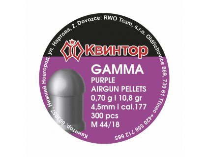 Diabolo Kvintor Gamma Purple 4,5mm 300ks