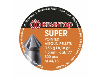 Diabolo Kvintor Super Pointed 4,5mm 300ks