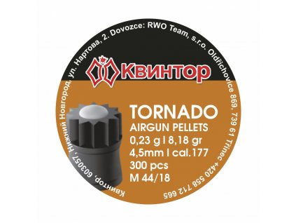 Diabolo Kvintor Tornado B 4,5mm 300ks