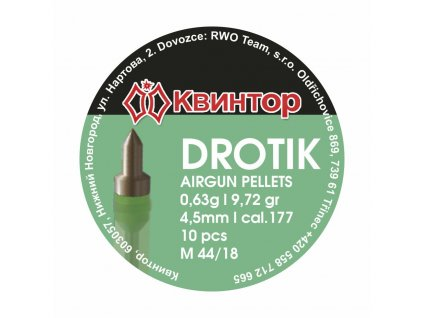 Diabolo Kvintor Drotik 4,5mm 10ks