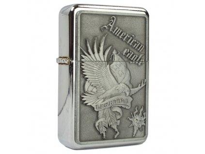 Zapalovač benzínový AMERICAN EAGLE / VLAJKA US
