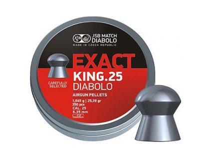 Diabolo JSB Exact King 6,35mm 350ks