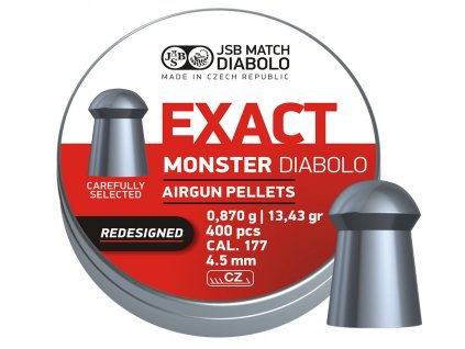 Diabolo JSB Exact Monster Redesigned 400ks cal.4,52mm