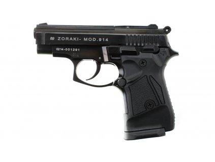 Plynová pistole Atak Zoraki 914 auto černá cal.9mm
