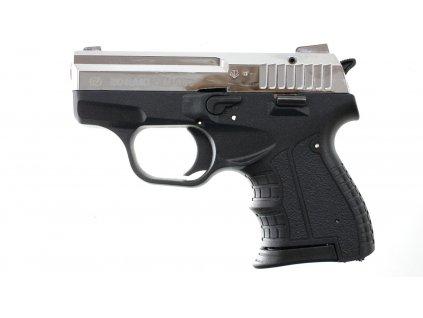 Plynová pistole Atak Zoraki 906 lesklý chrom cal.9mm