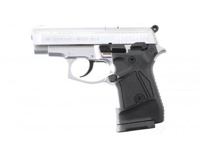 Plynová pistole Atak Zoraki 914 auto nikl cal.9mm